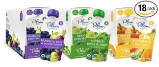 Baby food pouches