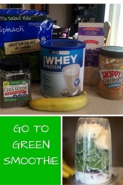 GO TO GREEN SMOOTHIE